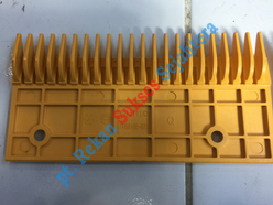 Comb 22 Teeth, Left, Yellow (FPB0106-001) FUJITEC
