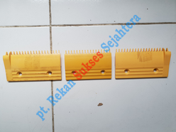Comb Hitachi, 17teeth, Yellow, Middle, 32333635-1 H2201147