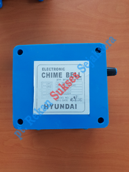 Electric Chime Bell Blue Hyundai Elevator (24VDC)
