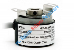 Rotary Encoder Nidec Nemicon type HES-25-2MD